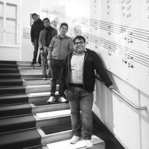 @cuarteto_lignum Bienvenidos a la Casa de la Musica ! Das Konzert des mexikanischen Streichquartetts, am Mittwoch 16:00...
