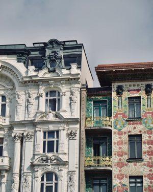 """""""Music is liquid architecture; Architecture is frozen music."""" — Johann Wolfgang von Goethe . . . #vienna..."""