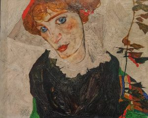 #egonschiele #bildniswallyneuzil #portraitofwallyneuzil #wallyneuzil #1912 #leopoldmuseum #wien #vienna #austria #österreich