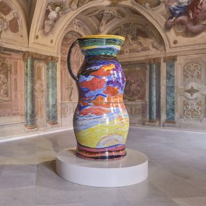 Artist Uli Aigner takes porcelain, a traditional material that endures through the centuries, ...