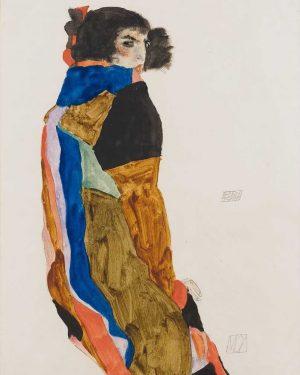 Egon Schiele, Austria (1890-1918) Moa (1911) #egonschiele #schiele #expressionism #arthistory #gustavklimt #klimt #paintings #painting #art #arte #artwork...