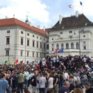 #vienna #wien #demonstration