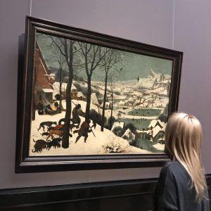 В Венском музее истории искусств Kunsthistorisches Museum самая большая коллекция картин Питера Брейгеля. ...