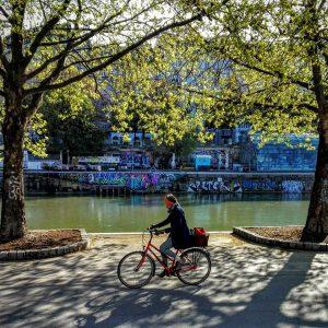Radfahren am Morgen vertreibt Kummer und Sorgen! 😊🚲🌳 #fahrradwien #igersvienna #wienliebe #biketowork #lovecycling ...