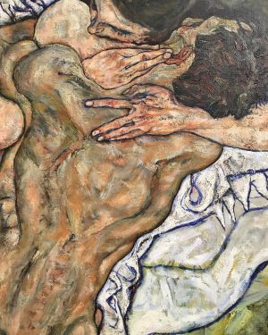 to warm the world, that's done in warming us (egon schiele, 1917 - ...