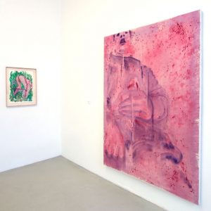 Installation view from our current show AIR 2018 with 2 paintings by Rui ...