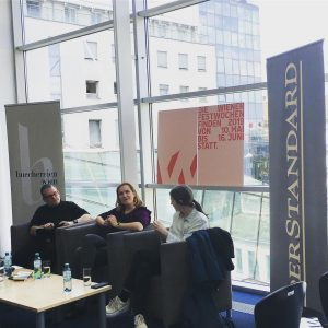 Talk: Mette Edvardsen in conversation with Barbi Marković and Helmut Plobest. Thanks for ...