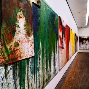 instawalk - Albertina - Nitsch. Räume aus Farbe (empty museum) #AlbertinaNitsch #AlbertinaMuseum #Albertina ...