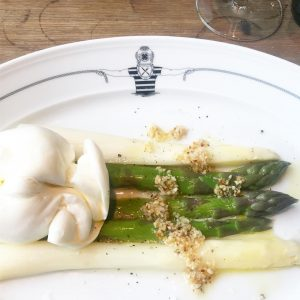 As long as they serve Austrian #asparagus I will order it. This hazelnut ...