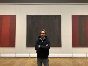 Got to see the amazing work of Mark Rothko at the Kunsthistorisches Museum in Vienna. #markrothko #exhibit...