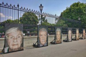 Gegen das Vergessen! ¡Contra el olvido! Proyecto de Luigi Toscano, fotografías de supervivientes del terror nazi en...