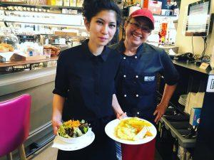 Unsere liebe Xuan und die fabelhafte Köchin Sandra☀️🌹