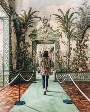 Pardon us, while we take a walk through Johann Wenzel Bergl's glorious art ...