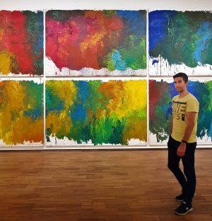 #albertina #albertinamuseum #nitsch #spacesofcolor #art #colors #vienna #wien #austria #travellover #travellove #travelandlife #traveltheworld #travelphotos #travel #traveller #traveladdict...
