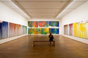 Räume aus Farbe . Die neue Ausstellung von Hermann Nitsch im @albertinamuseum - ...