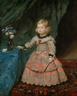 Diego de Velasquez. La infanta Margarita Teresa (1651-1673) en un vestido rosa. Margarita Teresa (1651-1673) fue la...