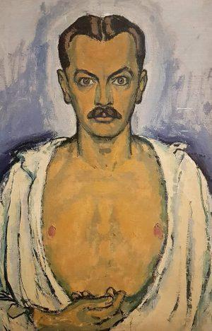 Selbstporträt Wien 1916 #kolomonmoser