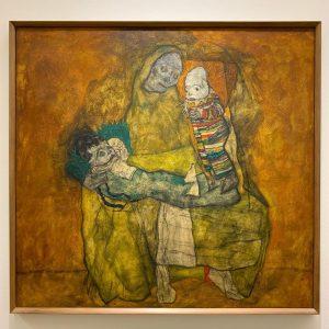 """""""Mother with two children (Mutter mit zwei kinder)"""" by Egon Schiele. My friend ..."""