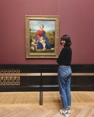 过了零点,今天是全新的文艺少女💃 #kunsthistorischesmuseum #khm #wien #vienna #raffaello #museum #galerie #维也纳
