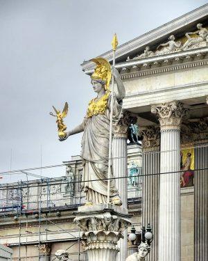 Austria Vienna 1010 Innere Stadt Parlament - Pallas Athene #austria #österreich #австрия #vienna #wien #вена #viennanow #viennagoforit...