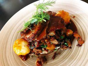 🍗 mhmmmm Ganslgröstl ♥️ #foodlovervienna #viennaeats #wirtshaus #wienerkaffeehaus #schleifmühlgasse #freihausviertel #naschmarkt #vienna #viennafood