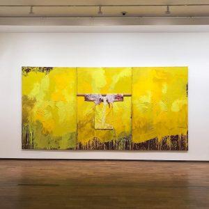 """Hermann Nitsch (*1938), """"NITSCH. Räume aus Farbe"""" (Spaces Of Color), @albertinamuseum @nitschfoundation @nitschmuseum @albertinamuseum #hermannnitsch #AlbertinaNitsch #albertinamuseum..."""