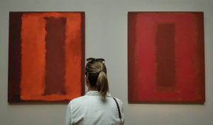 Sunday museum tour :) let's go Rothko!