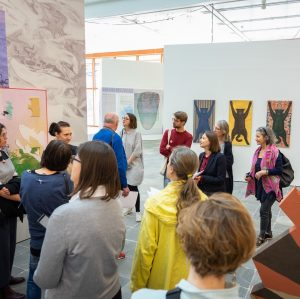 Tomorrow at 7 pm Severin Dünser and Luisa Ziaja lead a tour of the exhibition