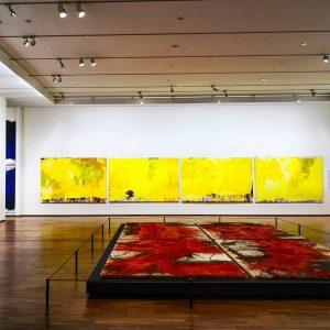 instawalk - Albertina - Nitsch. Räume aus Farbe (empty museum) #AlbertinanNitsch #AlbertinaMuseum #Albertina ...