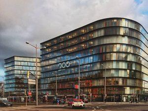 Erste Campus #wien #österreich #architektur #architecture #vienna #austria #igersvienna #vienna_austria #contemporary #gürtel #nurderschönheitwegen #youshouldbettereatarchitecture #wiennurduallein
