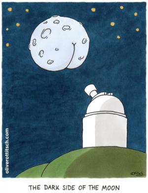 Diesen Cartoon von Oliver Ottitsch und viele andere Bilder gibt's bis 29. September in der Ausstellung