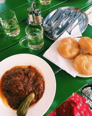 GOULASH!!!! Who knew stewed meat could be ever so tasty? Had a lovely ...