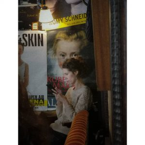 @hawelka_cafe #vienna #anarchist #hangout #posters #candid #portrait