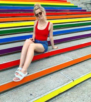 Such vibes 🌈✌️🌈 . . . . . . . #vienna #austria #universitätwien #europe #holiday #eurotrip #pride...