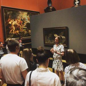 Guided by Artists Markus Örn führt durch das Kunsthistorische Museum . . . ...