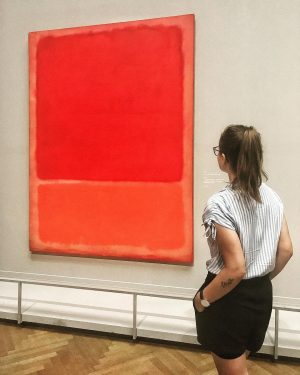 • ❤️első randim #Rothko - val • ____________________________ #modernart #art #abstract #lovethis #artlover #artdailypost #dailyart #wien #vienna...