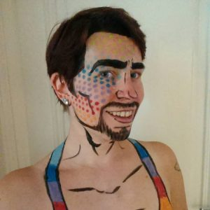 Thirds years pride makeup :3. . .#europride #regenbogenparade #genderbending #rainbowparade #rainbow #bodypaint #queer