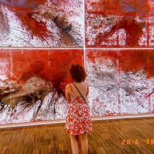 /art looking at art/ Hermann Nitsch, 'Räume aus Farbe' #albertina #hermannnitsch