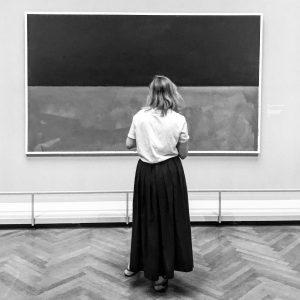 #rothko #marcrothko #vienna #iphone #museum #painting #bw #blackandwhite
