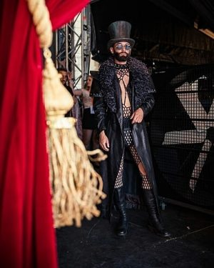 @ConchitaWURST is the backstage at the Life Ball 2019 at the Rathausplatz. 🎩 🎪 #conchitawurst #wurst #artist #celebrity...