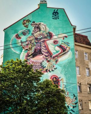 #grafitiart #grafitiwall #mural #bear #photooftheday #summervibes☀️ #summer #nikon #d850 #colour #color