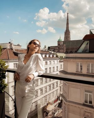Enjoy the sunshine like @gimranova_regina does at one of our private suite balconies ...