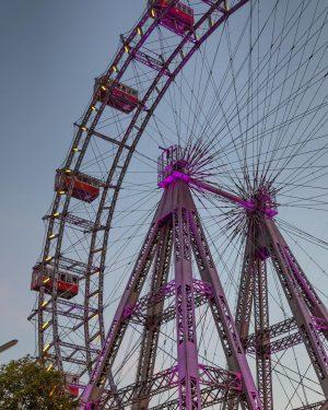 The (Bond film) famous Ferris wheel in Prater amusement park in Vienna. 🎡 ...