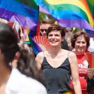 Ich werde dafür eintreten, dass die LGBTIQ-Bewegung einen festen Platz hat: In #Wien, ...