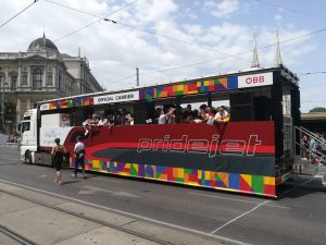 Pridejet Boarding #pridejet #hosi #csd #pride #stonewall #salzburg #vienna #wien #austria #gaypride #europride2019 ...
