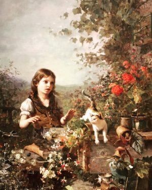 Olga Wisinger-Florian (1844-1926) was an Austrian impressionist painter, mainly of landscapes and flower still life. #Olgaflorian #leopoldmuseum...