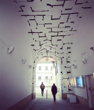 Need some break, need some direction #vienna #wien #wiedeń #MQ #museumsquartier #streetart #architecture ...
