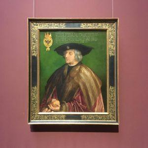 Дюрер, портрет австрійського імператора Максиміліана І