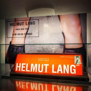 Most of Austrian fashion designer Helmut Lang's pieces (2000+) have been donated to the MAK museum's permanent...