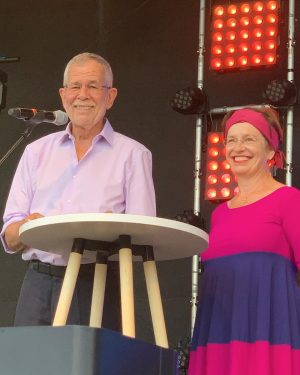 @vanderbellen and his wife Doris supporting EuroPride Vienna 2019 🏳️‍🌈❤️